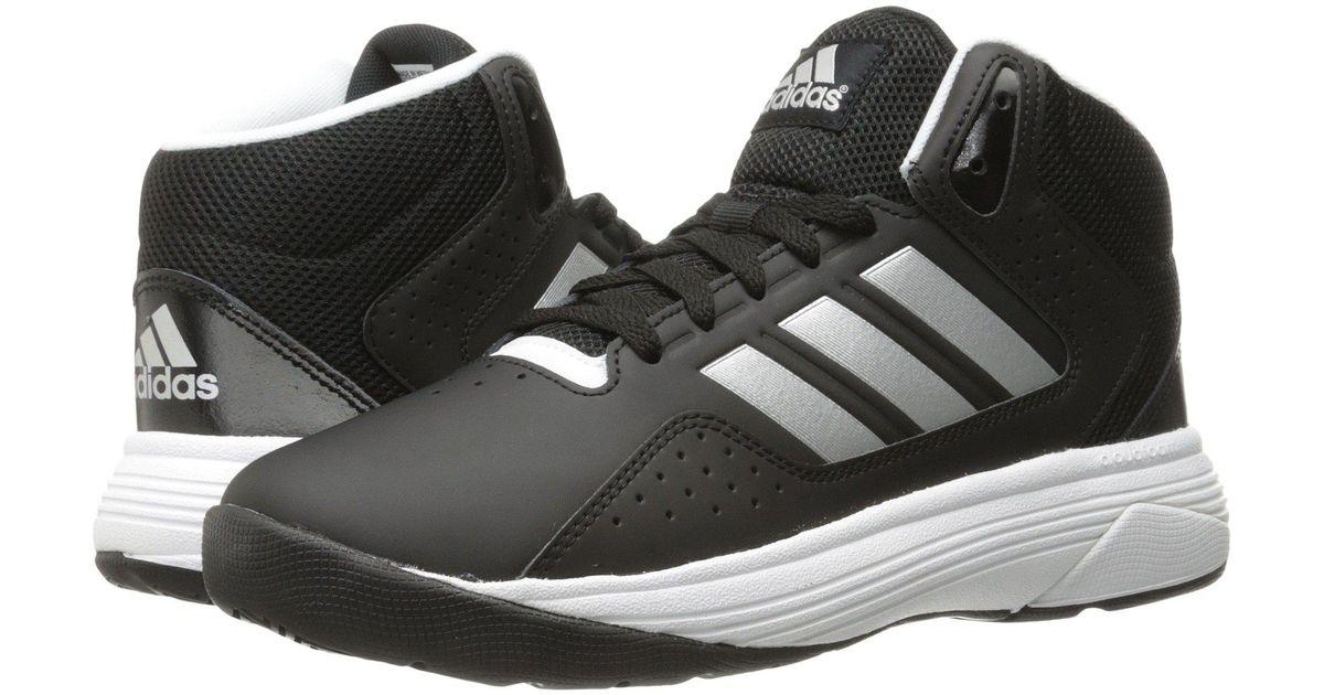 155e45c1378f Lyst - adidas Cloudfoam Ilation Mid (core Black matte Silver white) Men s  Basketball Shoes in Black for Men