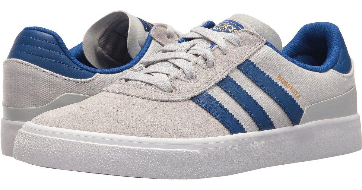 Lyst - adidas Originals Busenitz Vulc (black white black) Men s Skate Shoes  in Gray for Men c6347adce