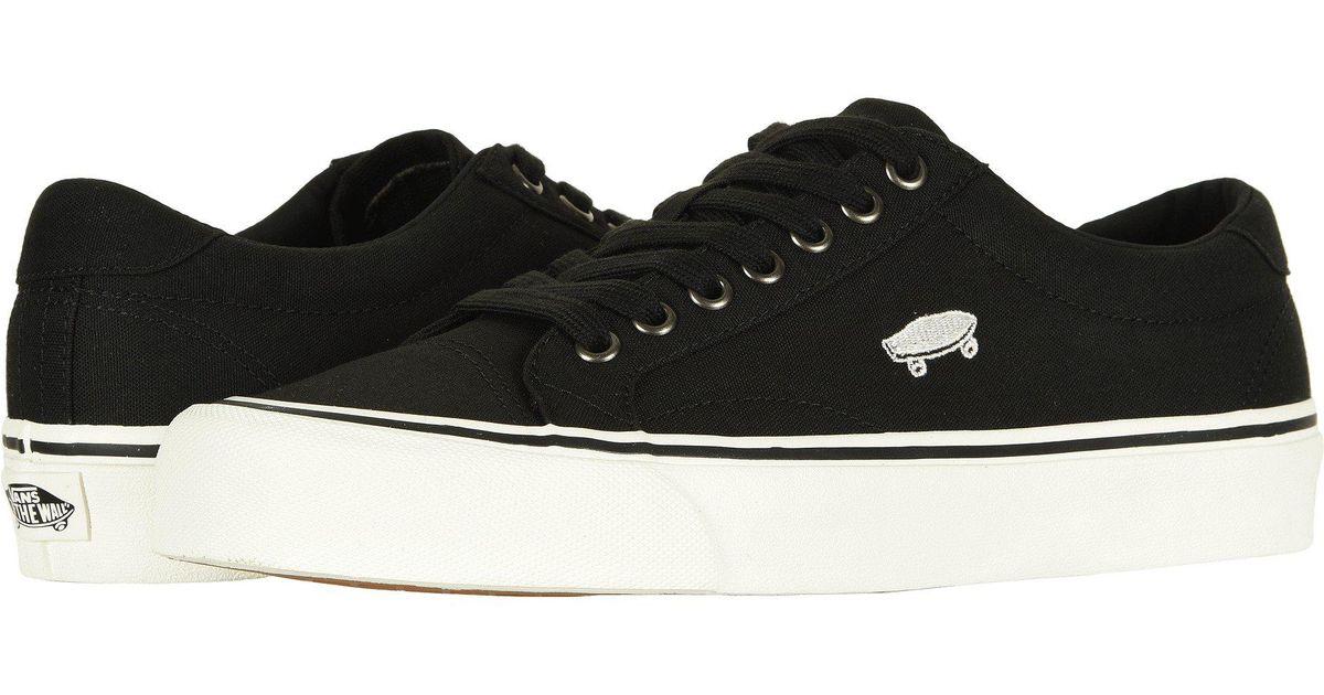 31c9358e36d34c Lyst - Vans Court Icon (black cloud Dancer) Skate Shoes in Black for Men