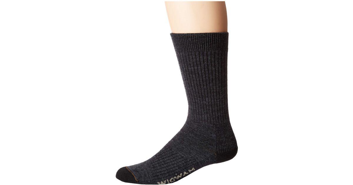 1f3434ddf0c Lyst - Wigwam Everyday Fusion (khaki Ii) Crew Cut Socks Shoes in Gray for  Men