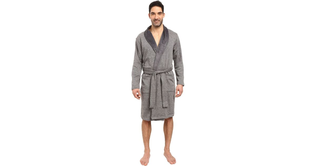 ugg men's robinson shawl collar robe