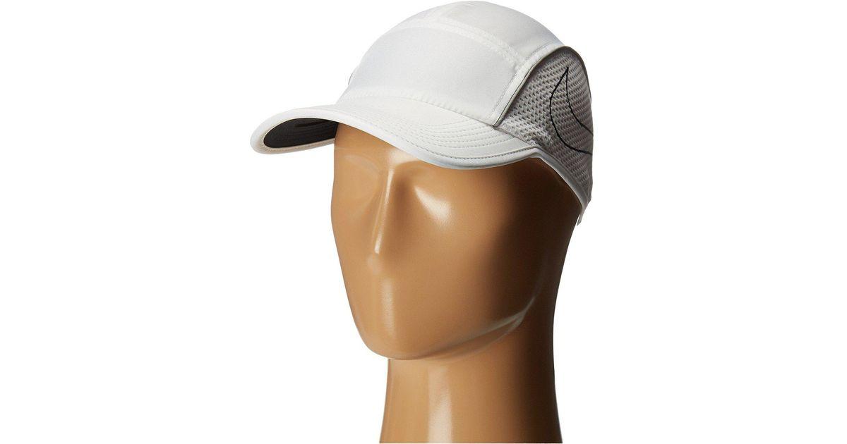 bb31e662f6cf6 ... usa lyst nike aerobill aw84 running cap in white for men f5622 20994