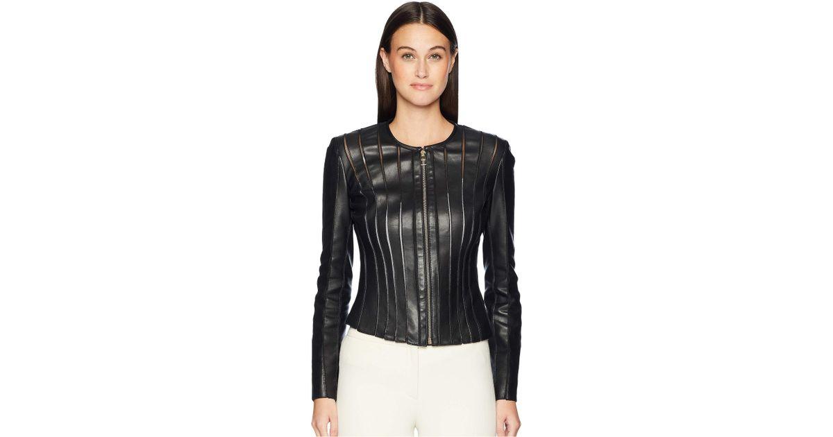 bfcb63df Versace Giubbotto Donna Pelle (nero/black) Women's Clothing