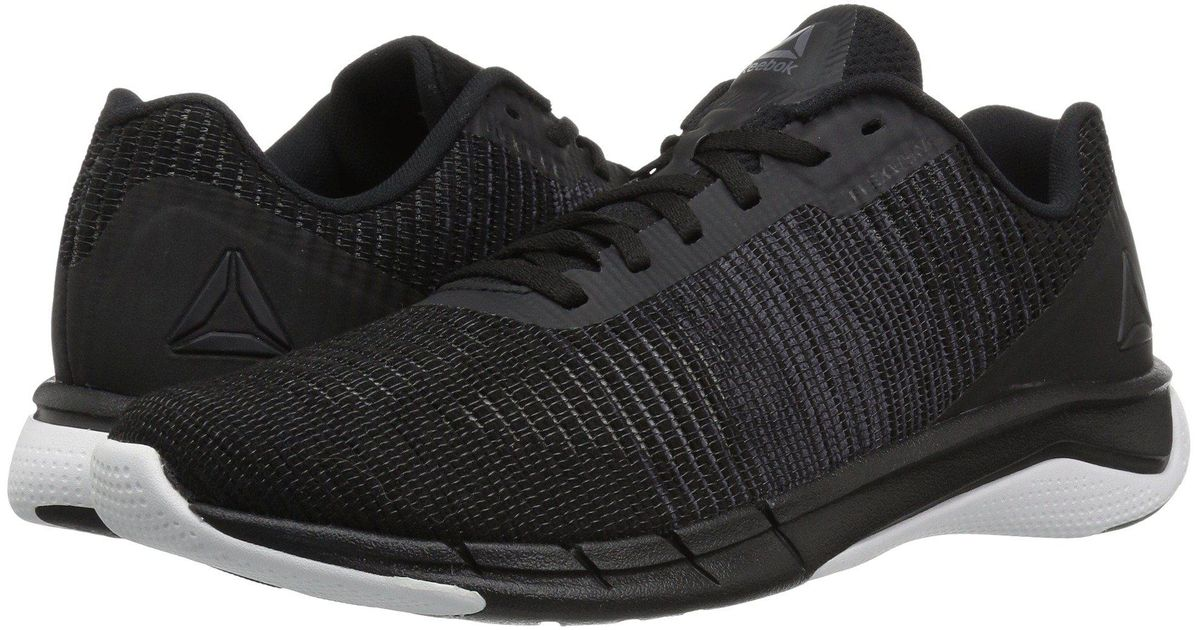 42b18ea7f54e Lyst - Reebok Flexweave Run in Black for Men - Save 9%