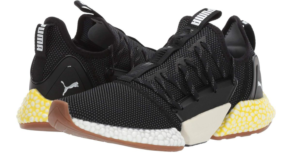 Lyst - PUMA Hybrid Rocket Runner ( White  Black strong Blue) Men s Lace Up Casual  Shoes in Black for Men 6fc446e8c