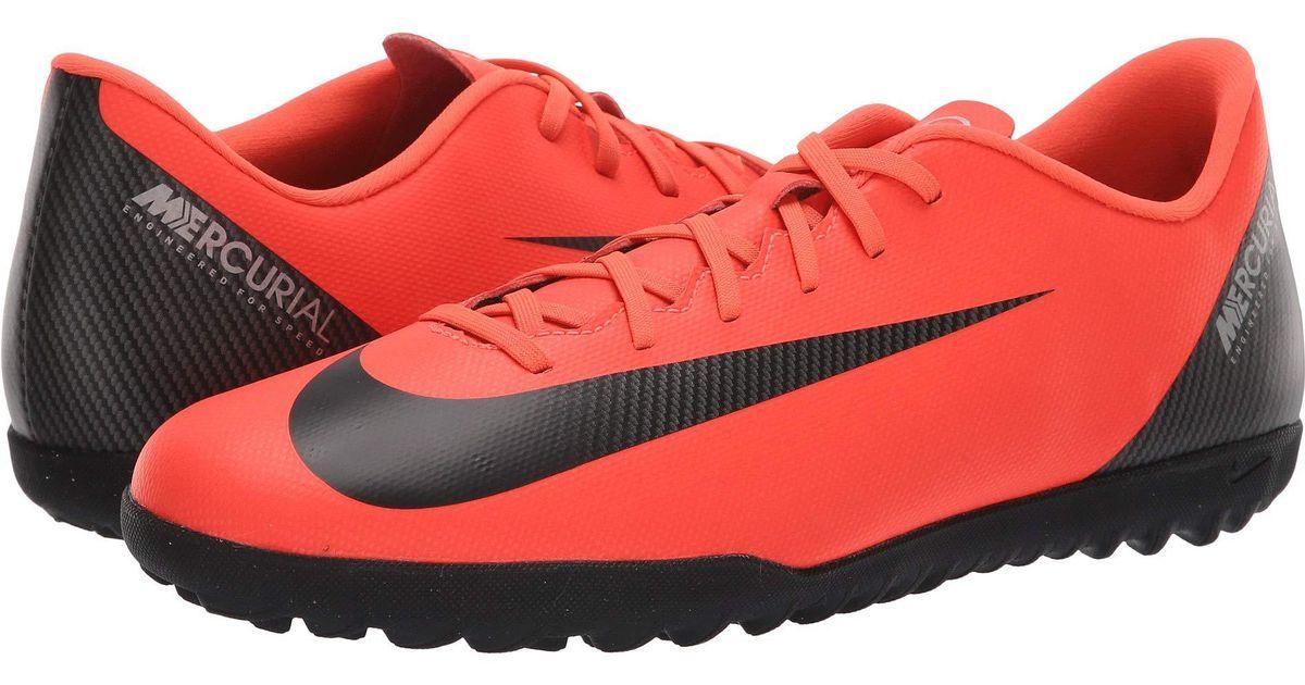bb74aa3e6 Nike Vaporx 12 Academy Cr7 Ic (flash Crimson black chrome dark Grey) Men s  Soccer Shoes for Men - Save 51% - Lyst