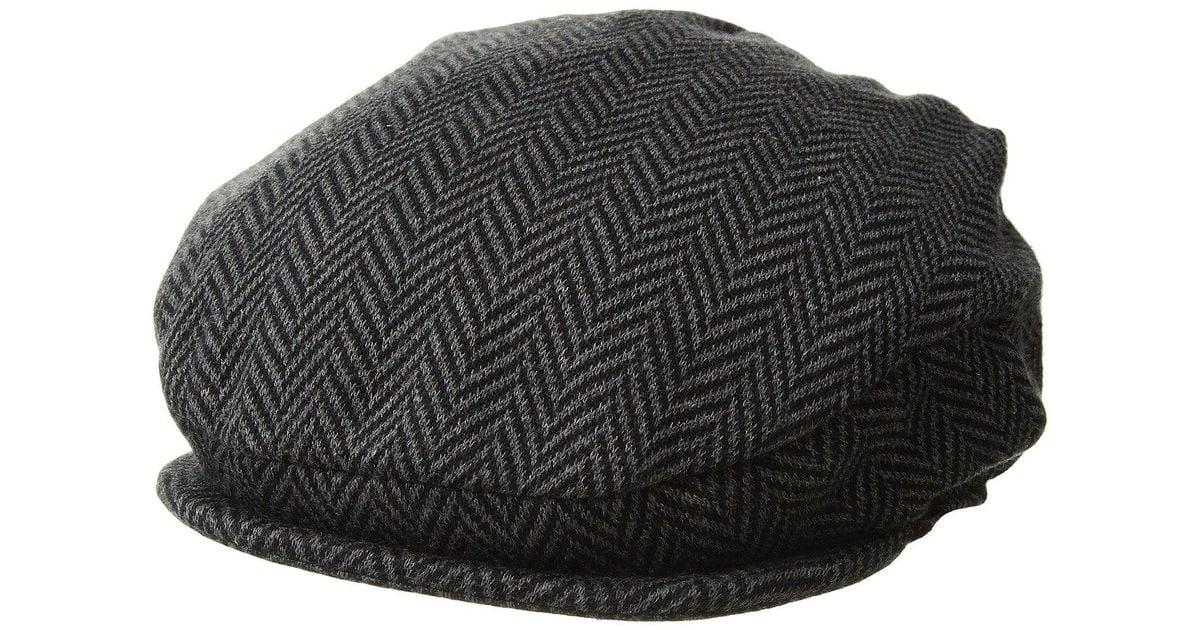 7c71970c443f5 Polo Ralph Lauren Herringbone Driver Cap (camel cream) Caps in Black for Men  - Save 26% - Lyst