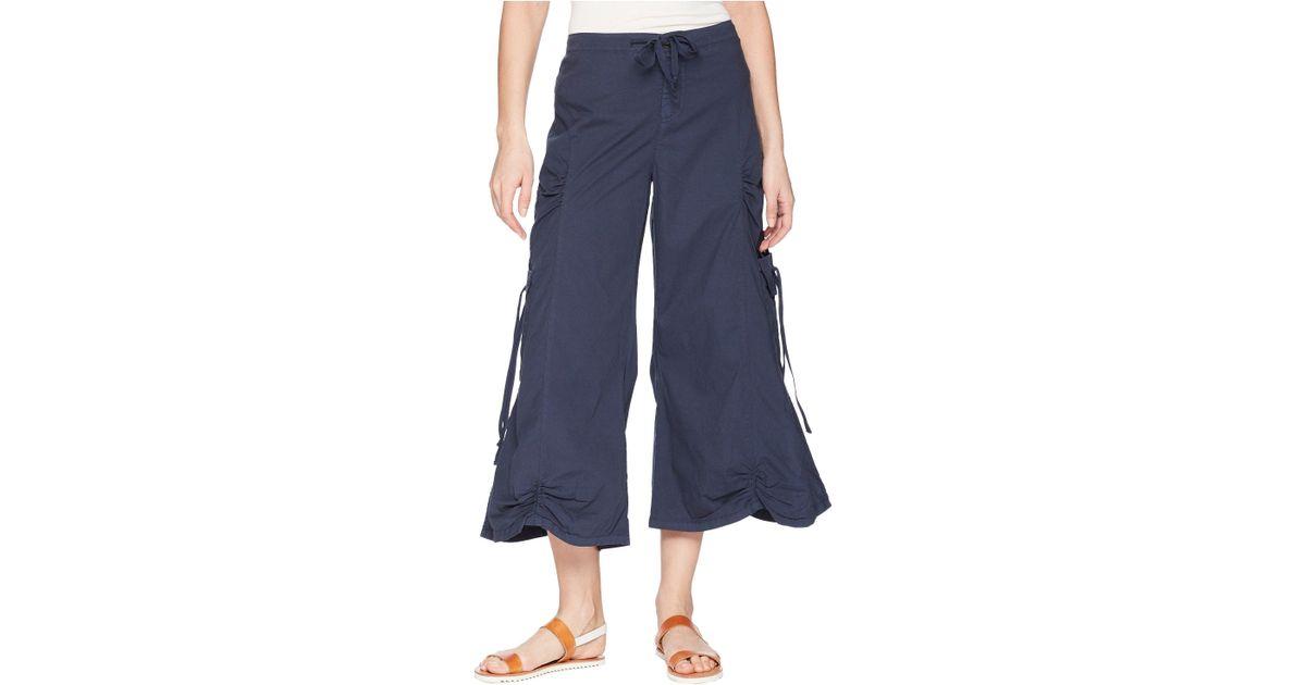 04ba40ac54d9 Lyst - XCVI Cargo Gaucho Crop (sand Dollar) Women s Capri in Blue
