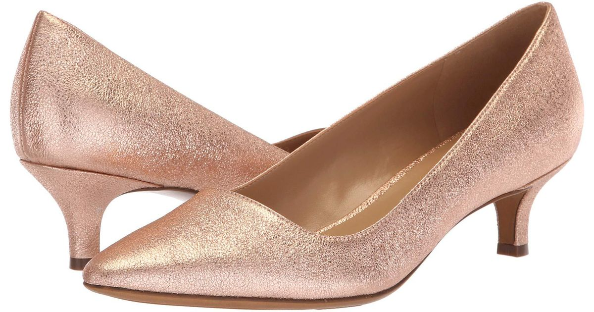 97d843ff615 Naturalizer Pink Pippa (black Leather) Women's 1-2 Inch Heel Shoes