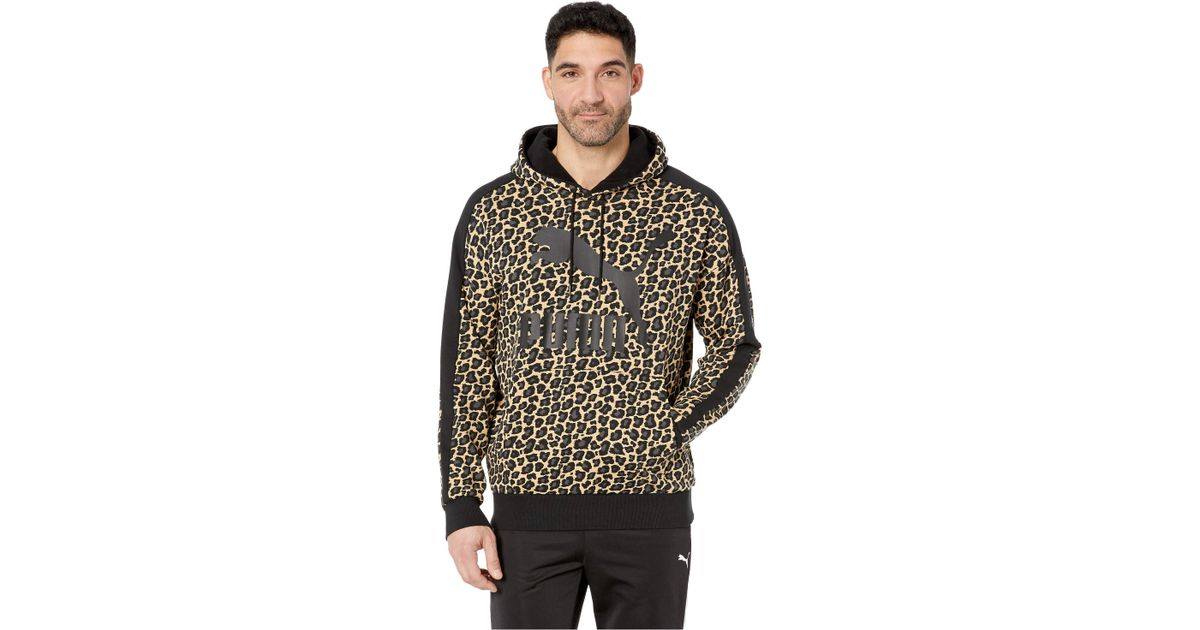 53aed56e42 PUMA Multicolor Wild Pack Hoodie Aop Tr for men
