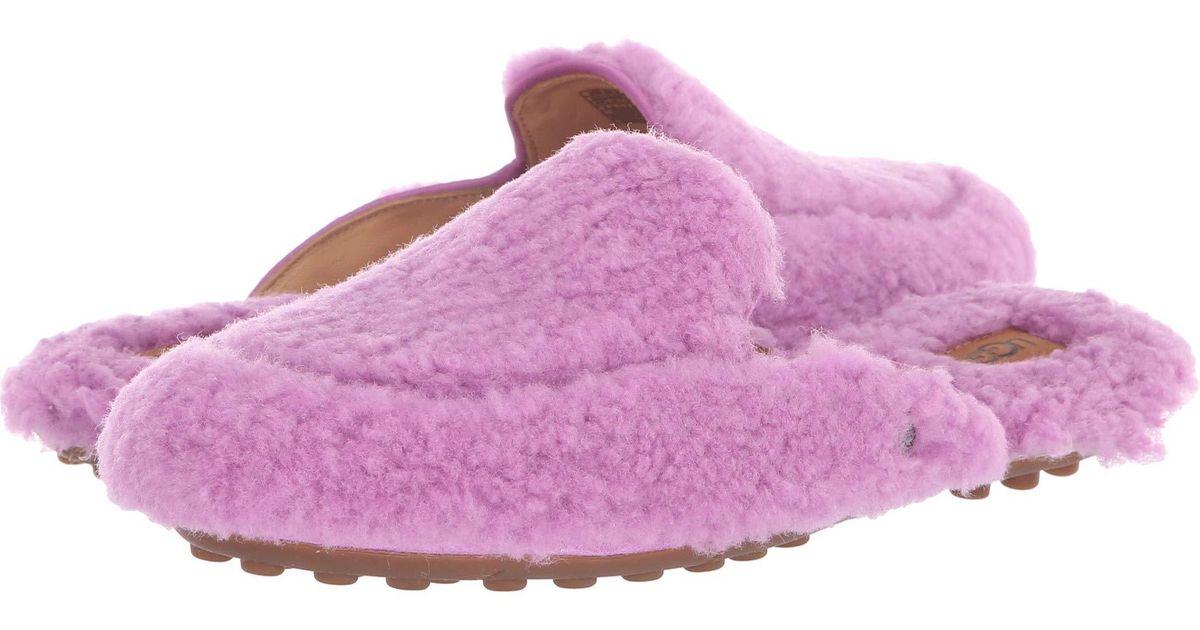 21eadb85cb1 Ugg Purple Lane Fluff Loafer (natural) Women's Slip On Shoes