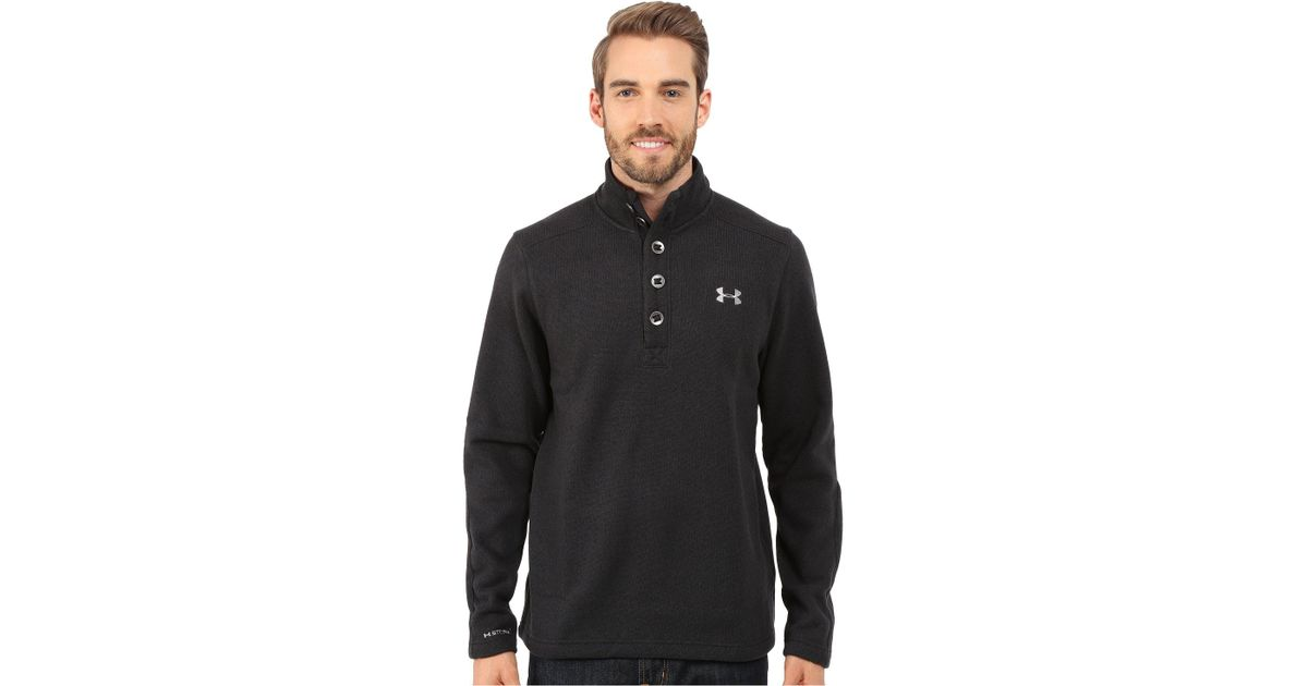 Lyst Under Armour Specialist Storm Sweater In Black For Men