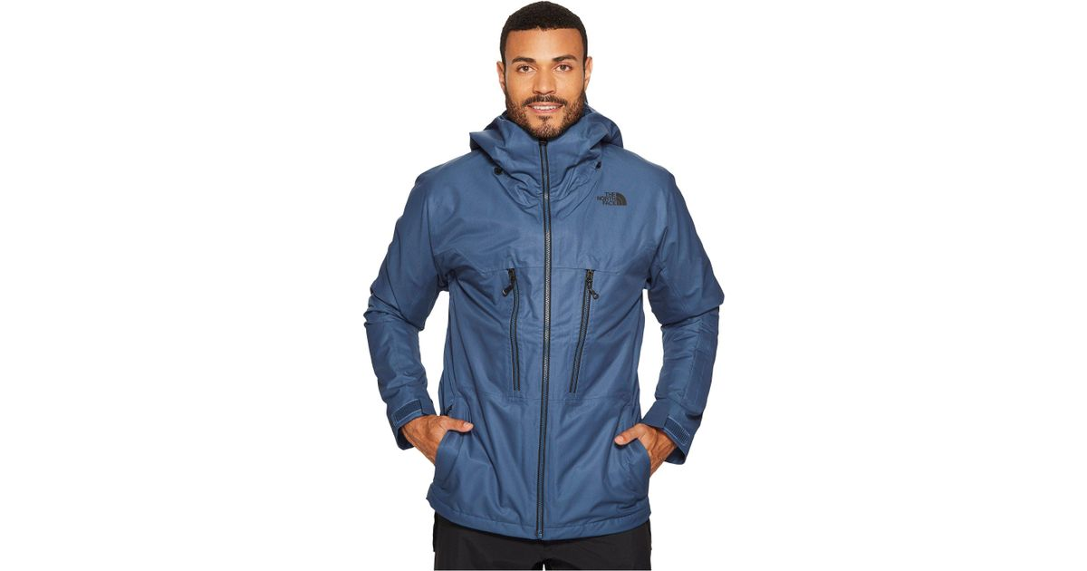 2814aaa1d The North Face Blue Thermoball Snow Triclimate Jacket for men
