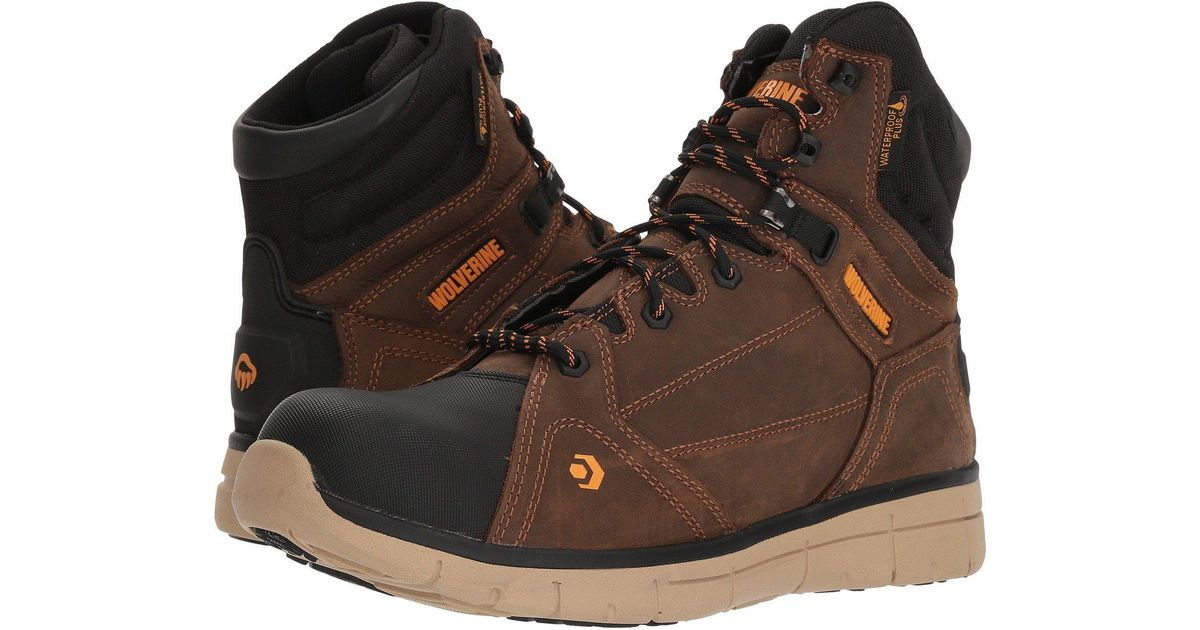 21929236a59 Wolverine Brown Rigger Mid for men