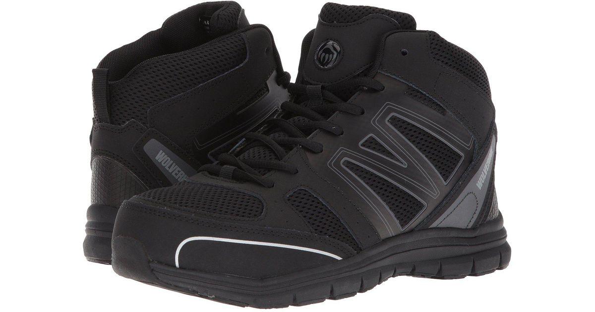 Steel ToeblackblackWomen's Industrial Wolverine Shoes Nimble Fx n0PwOk