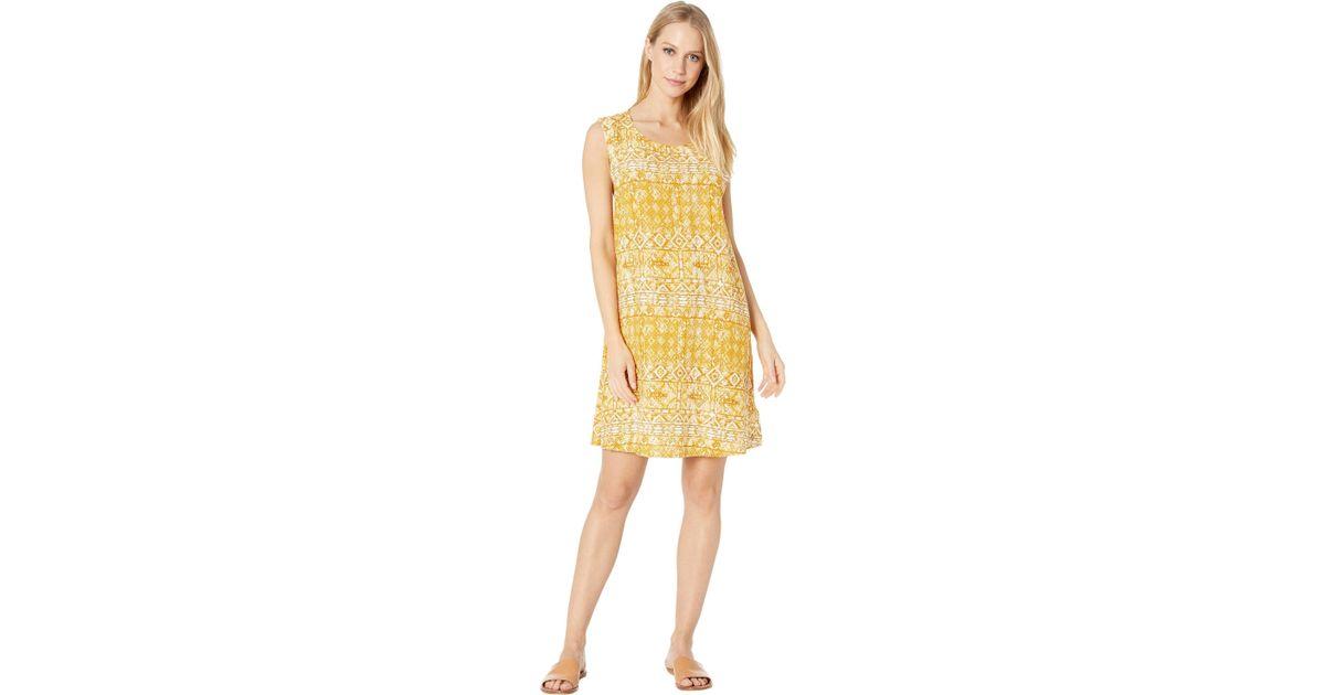 1d1bece82 Lyst - Roxy Harlem Vibes Dress (inca Gold Desert Tile) Women's Dress in  Yellow