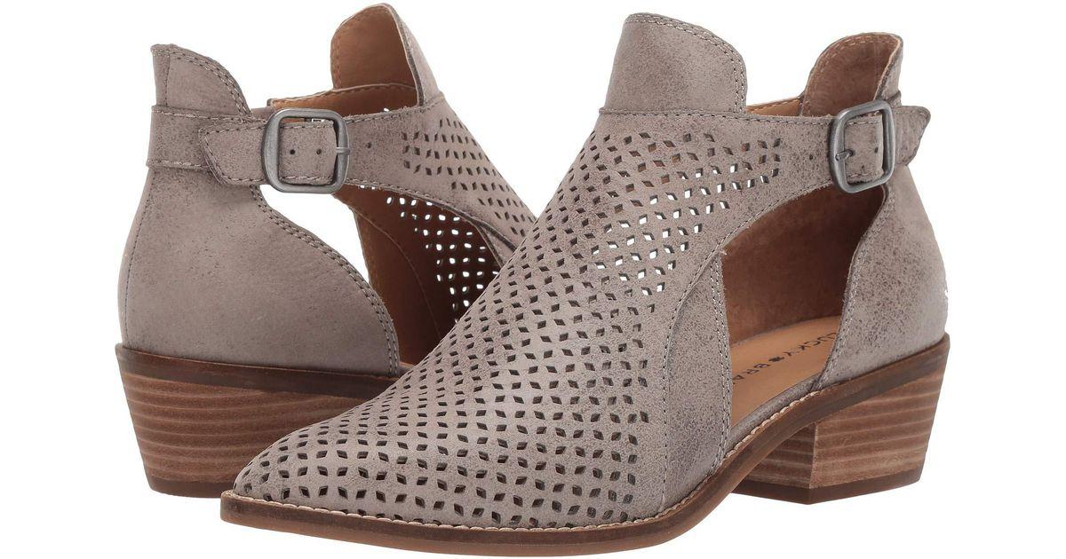 eb43c84830b Lyst - Lucky Brand Fillian (black) Women s Boots in Brown