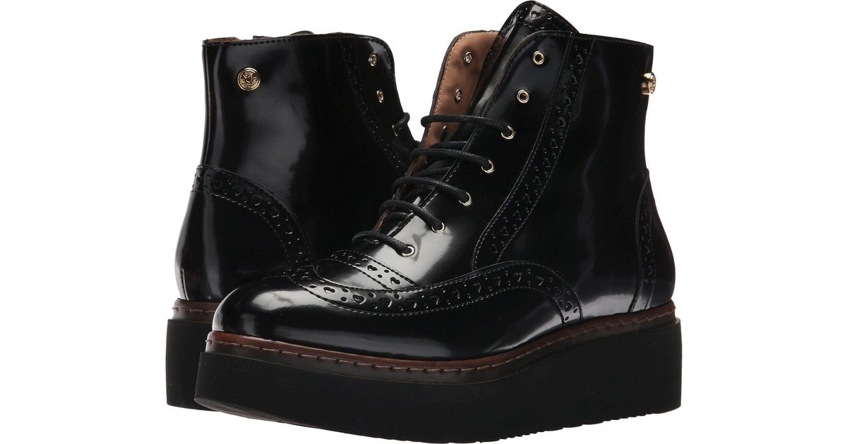 Love Moschino Leather Platform Utility
