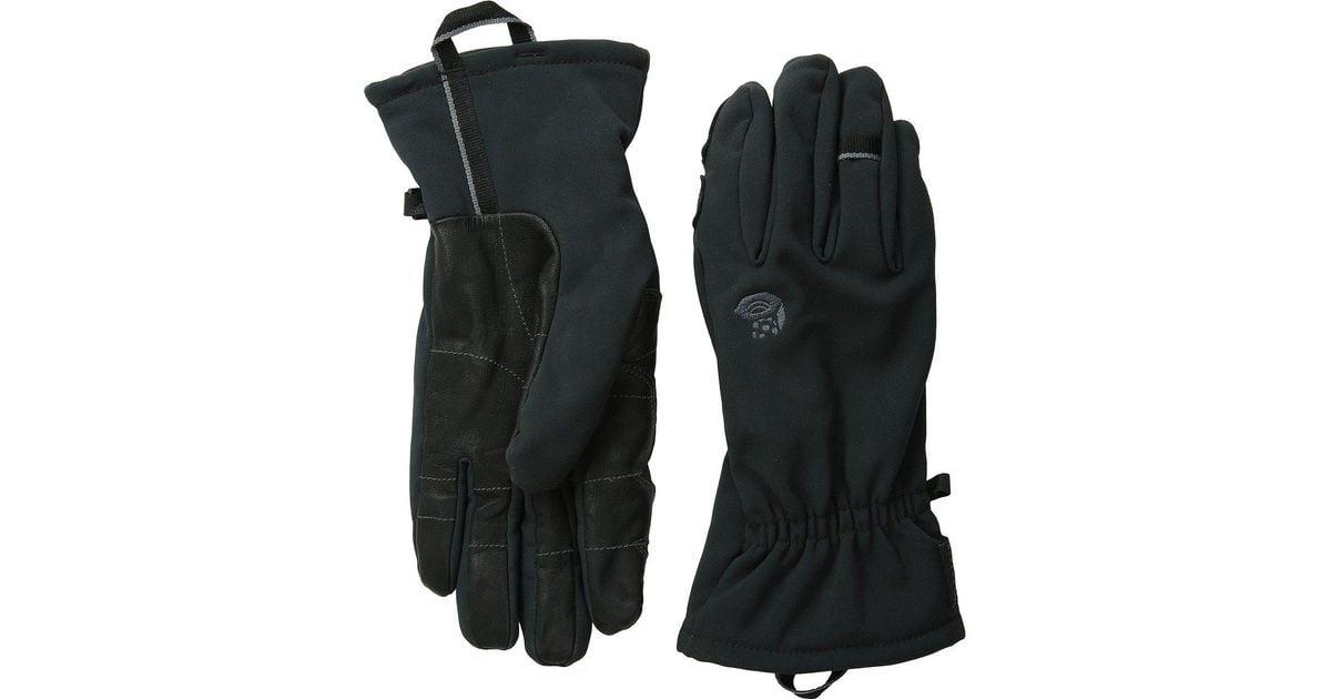 Lyst Mountain Hardwear Torsion Insulated Glove In Black
