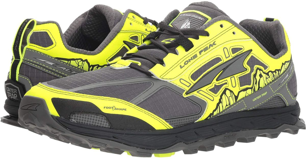 cute buying now great deals 2017 Altra Yellow Lone Peak 4.0 Trail Running Shoe for men