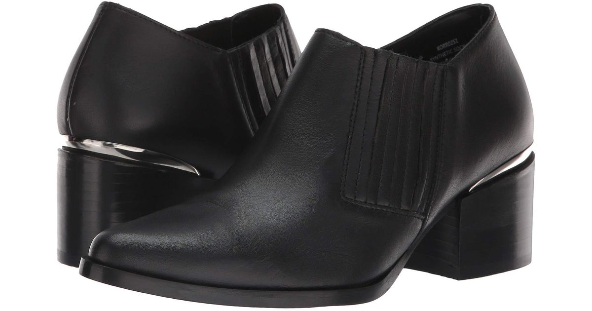 343fc985ffc Steve Madden - Korral Bootie (black Leather) Women's Boots - Lyst