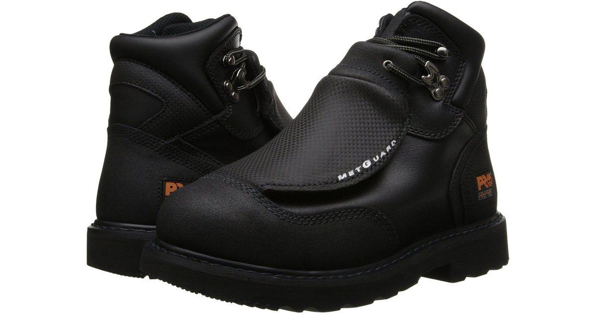 7e8c5fa7e7f Timberland Black Met Guard 6 Steel Toe for men