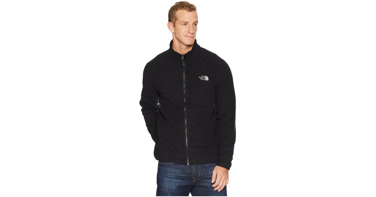 The North Face Glacier Alpine Jacket (four Leaf Clovertnf Blackasphalt Grey) Men's Coat for men