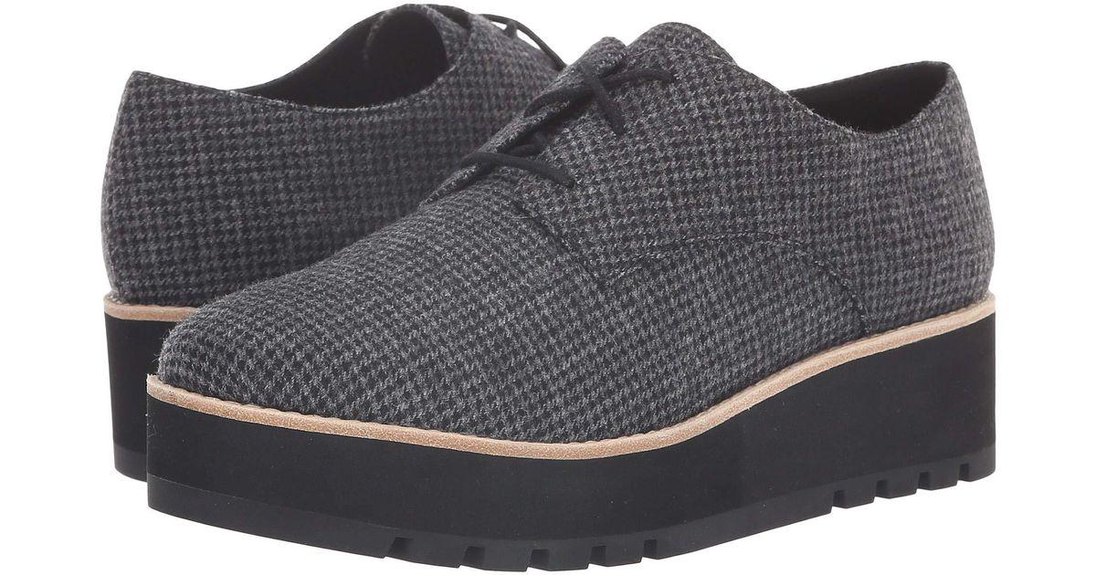 d9e6d06d902 Eileen Fisher Eddy 2 (black Houndstooth) Women's Shoes