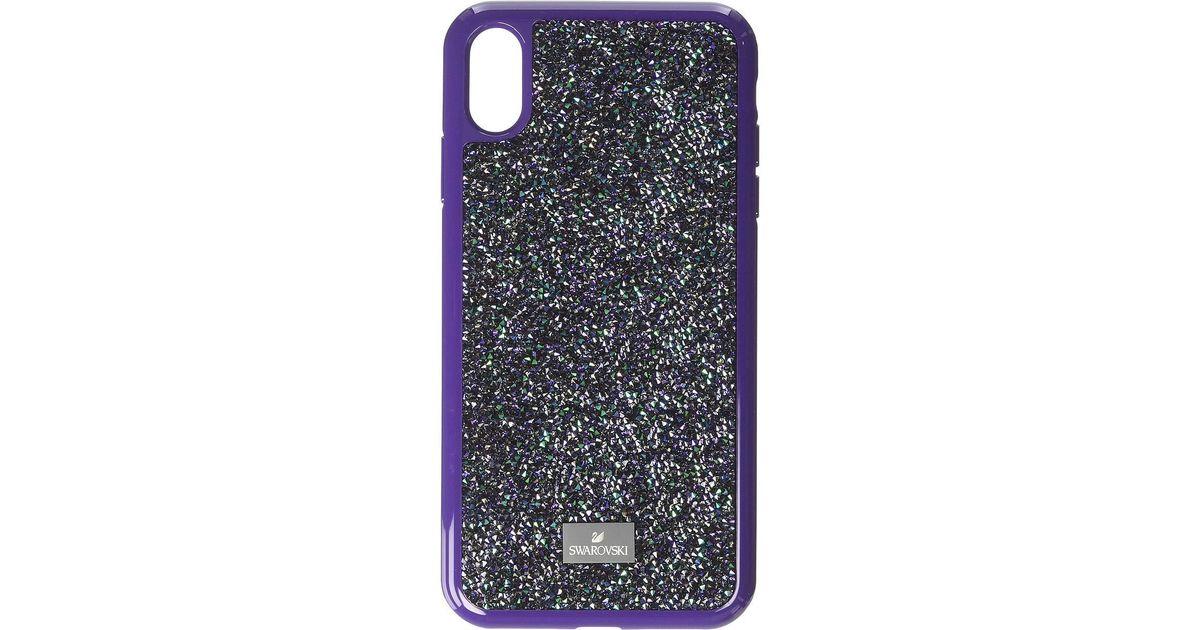 reputable site fba75 02ff8 Swarovski Purple Glam Rock Smartphone Case With Bumper, Iphone(r) X/xs