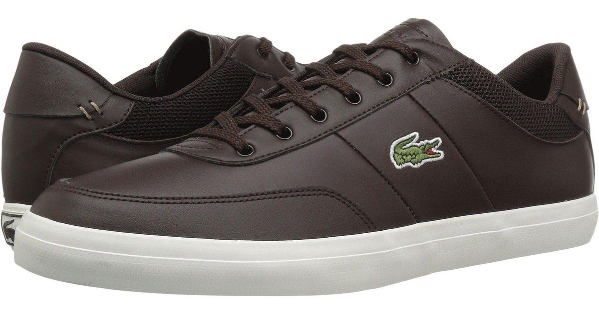 118 Master Lacoste Shoes Court Aj4r5lq3 Whitemen's In Brownoff 2dark 7Yb6vfgy