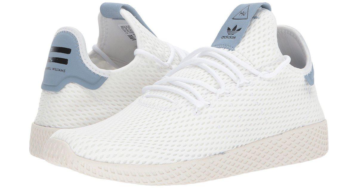 online store ec27c 7e7b4 Adidas Originals White Pharrell Williams Human Race for men