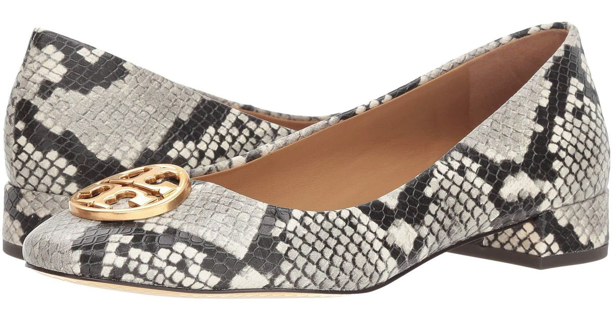 a9bd4b9f671 Lyst - Tory Burch Chelsea 25mm Ballet Flat (warm Roccia) Women s Flat Shoes