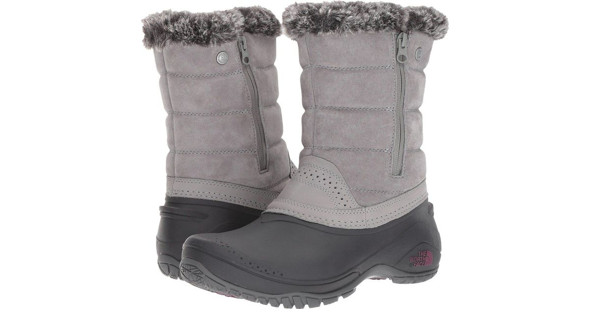 047b3d31d The North Face Gray Shellista Iii 200g Waterproof Pull-on Winter Boots