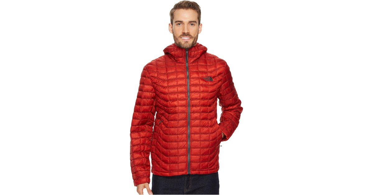 6482d1bde The North Face Red Thermoball Hoodie for men