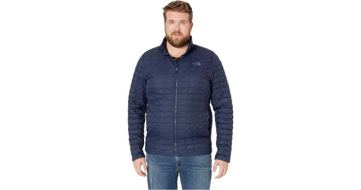 4b98b9f95 The North Face Blue Thermoball Jacket - Tall (urban Navy Matte 1) Coat for  men