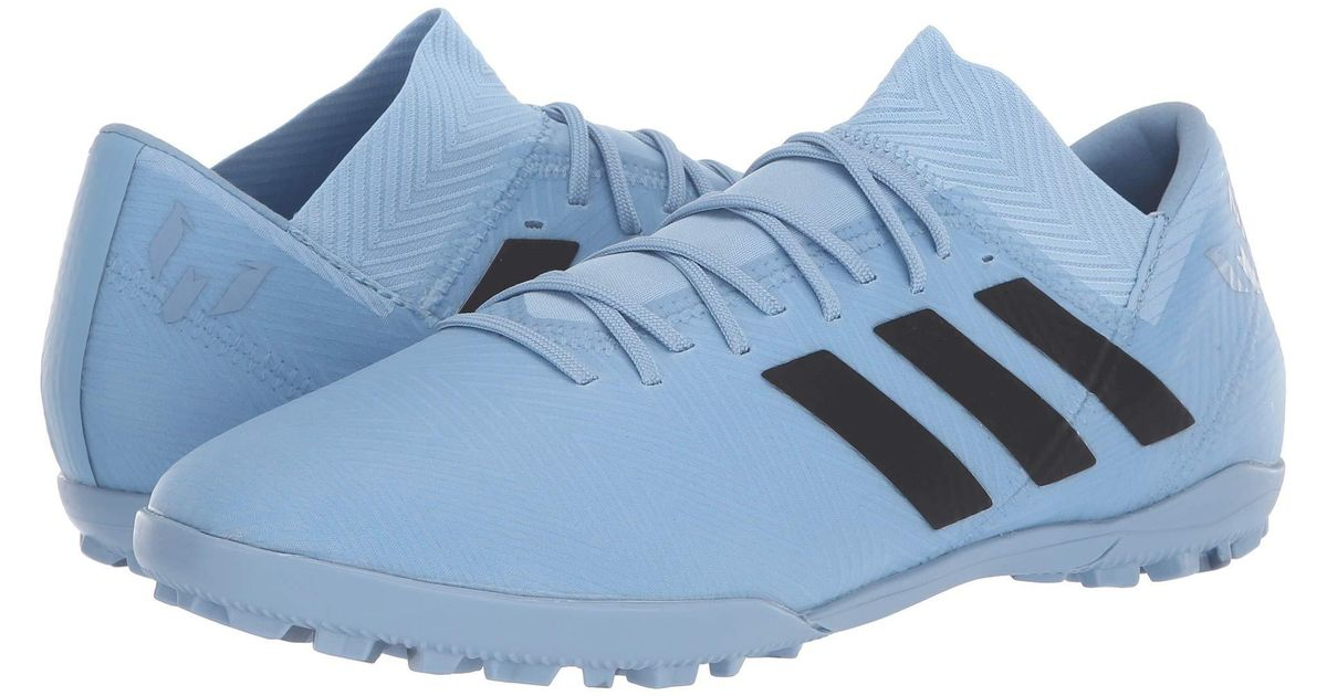 quality design f14ad 9a8f7 Lyst - adidas Nemeziz Messi Tango 18.3 Tf (ash Blue black raw Grey) Men s  Soccer Shoes in Blue for Men