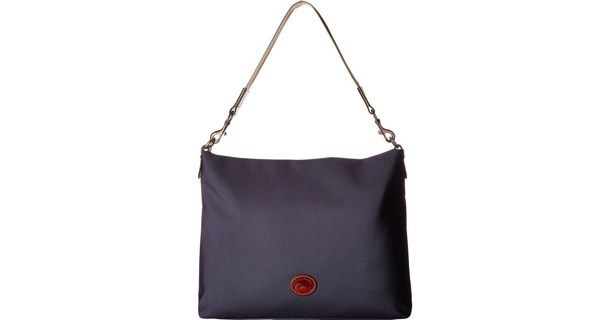 8919a8c173c5 Lyst - Dooney   Bourke Nylon Extra Large Courtney Sac in Blue