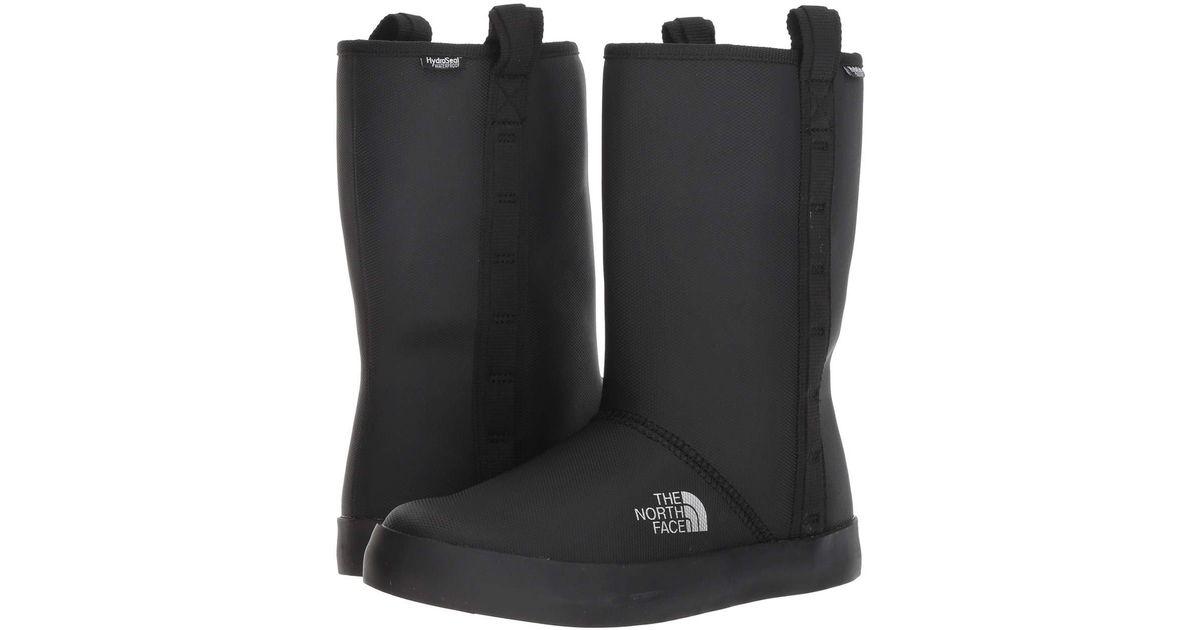 023a601c1 The North Face Black Base Camp Rain Shorty Wellington Boots