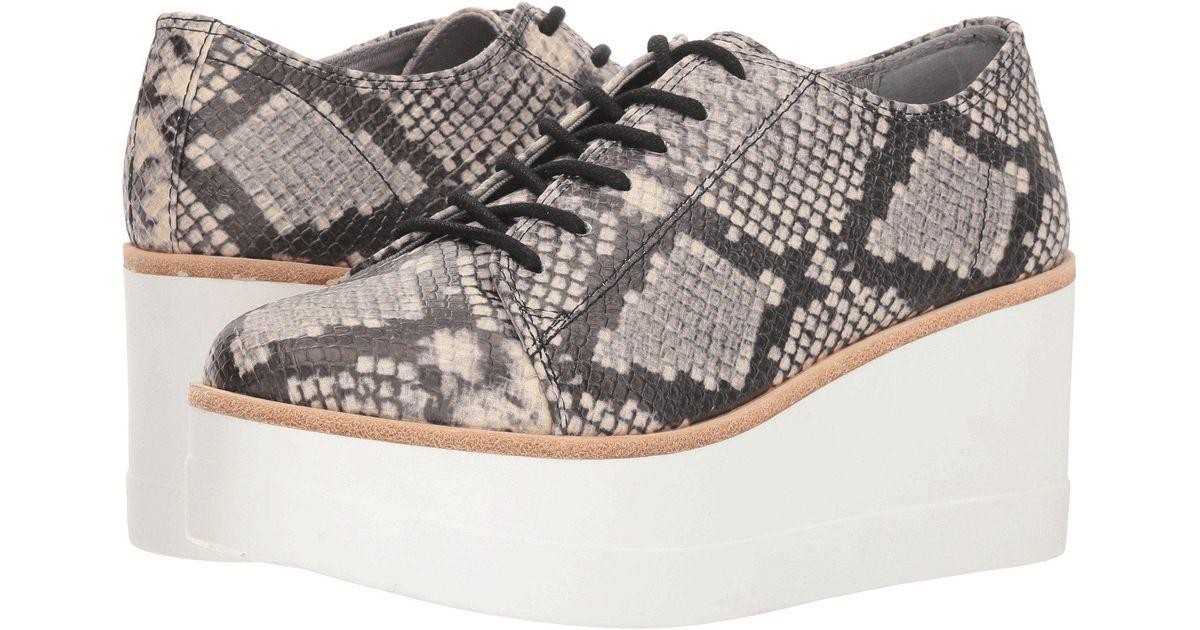 20c104347b9 Steve Madden Multicolor Kimber (black Leather) Women's Shoes
