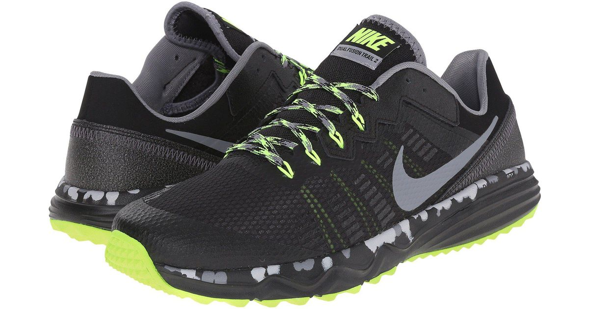 Nike Dual Fusion Trail 2 in Black for