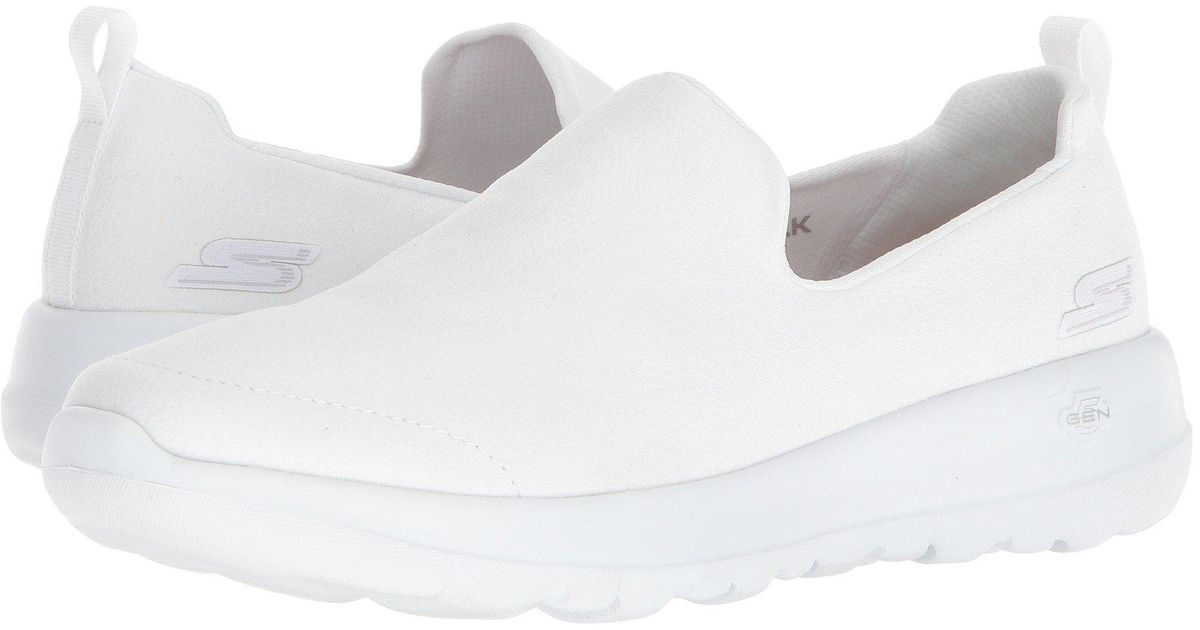 go walk skechers white