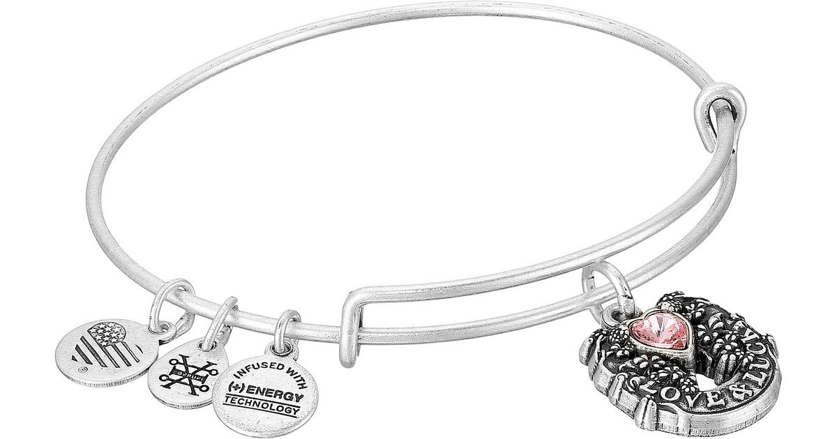 Lyst Alex And Ani Path Of Symbols Fortunes Favor Bangle