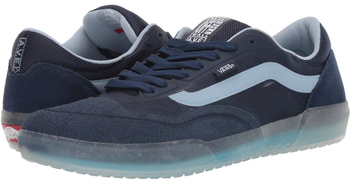 Vans Leather Ave Pro in Navy (Blue) for