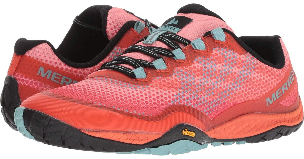 online retailer exquisite style wholesale outlet Merrell Multicolor Trail Glove 4 Shield (play Digital) Women's Cross  Training Shoes