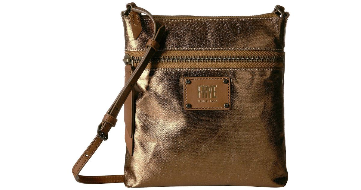 28a2f5a674fe Lyst - Frye Ivy Crossbody in Metallic - Save 14%