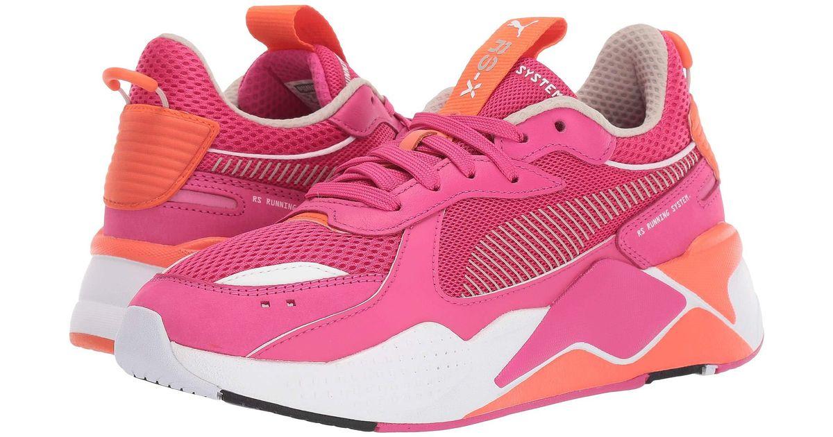 4bd8499a PUMA Rs-x Toys (fuchsia Purple/nasturtium/ White) Women's Shoes