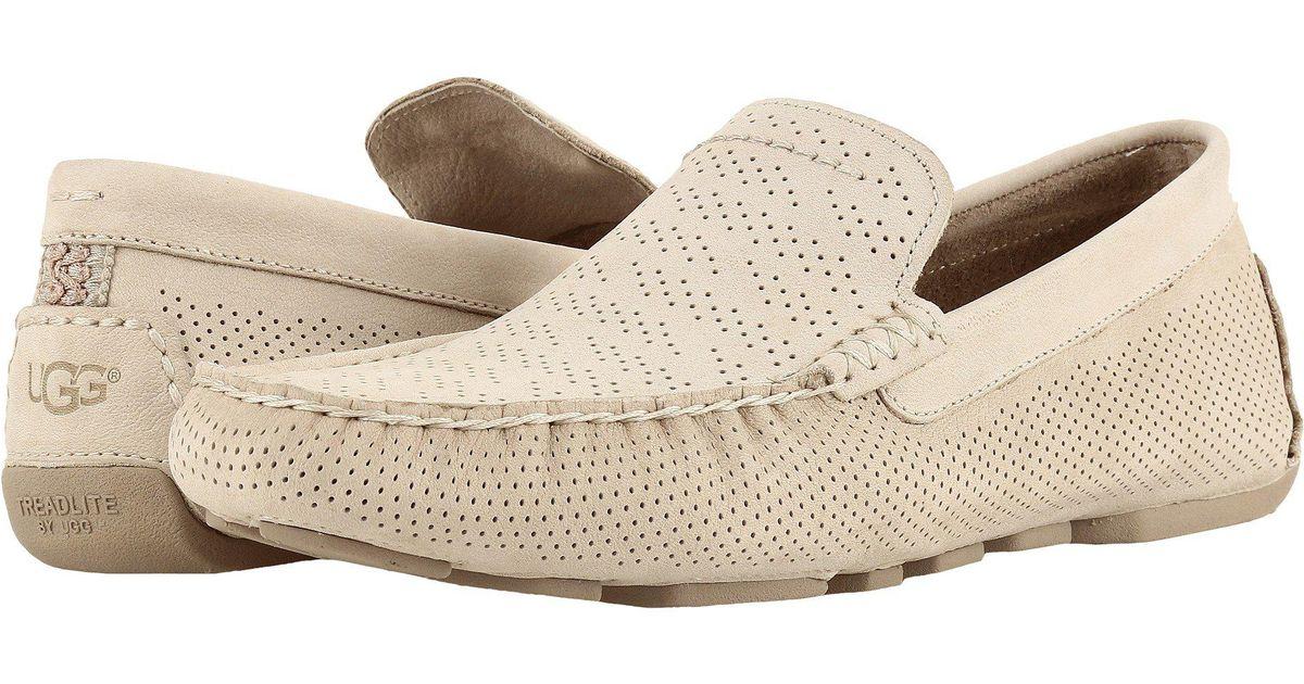 6fc57895c9a Ugg - Natural Henrick Stripe Perf (black) Men's Shoes for Men - Lyst