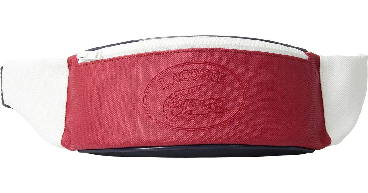 ff8e981265 Lacoste 85th Edition Waist Bag for Men - Lyst