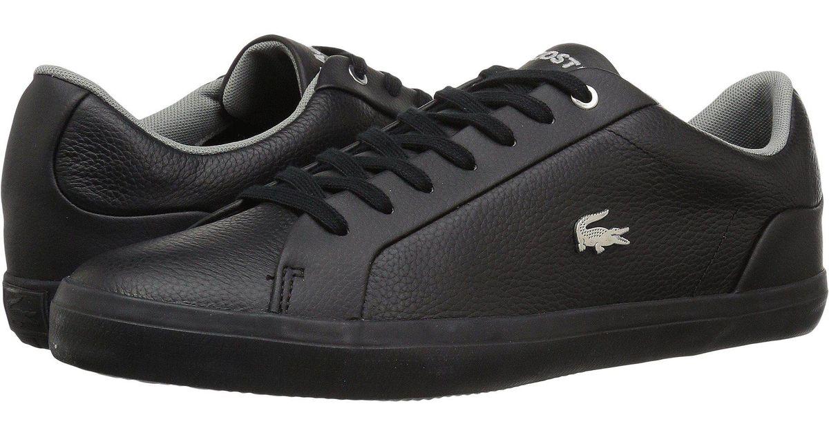 Lacoste Leather Lerond 118 1 U (black
