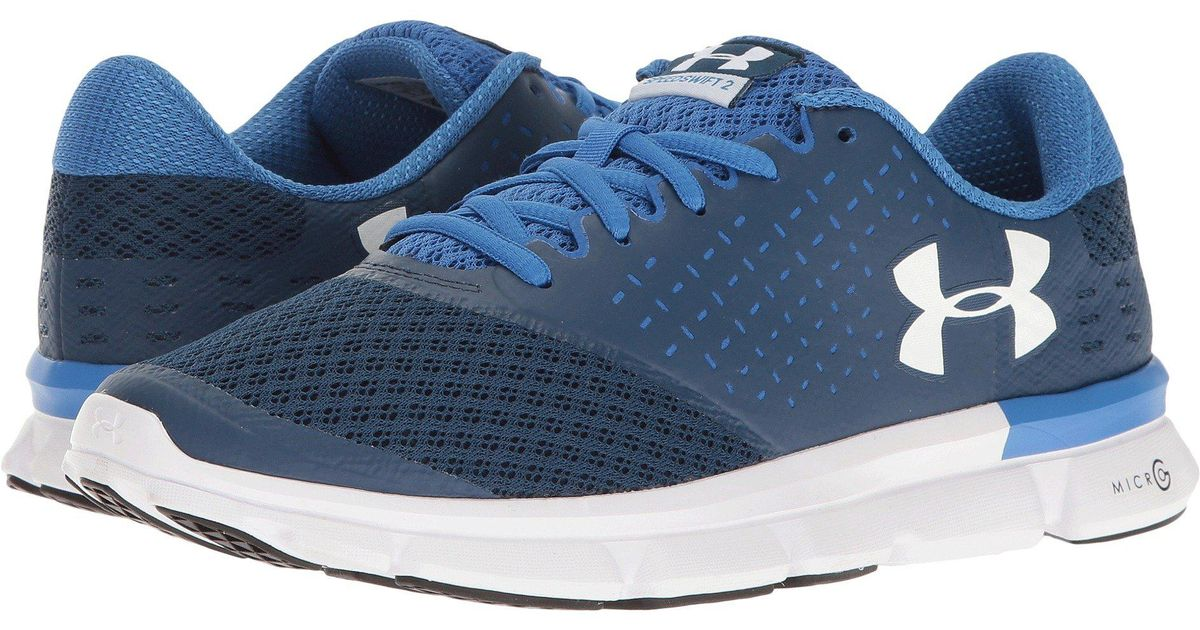 premium selection b767b 3a5d9 Lyst - Under Armour Speed Swift 2 Running Shoe in Blue - Save  62.96296296296296%